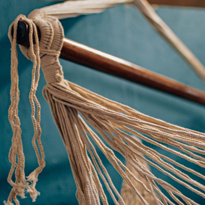 Macrame Net Hammock Swing Chair Detail