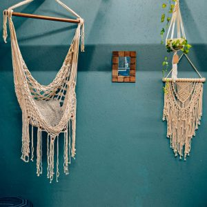 Macrame Net Hammock Swing Chair