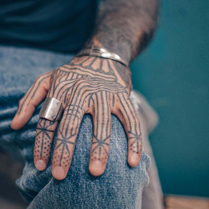 Tuareg Tribal Vintage Geometric Ring