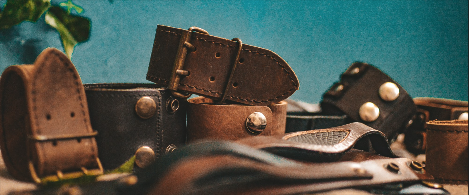 Leather Collection Banner