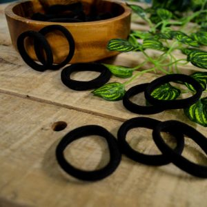 These simple elastic bobble hair ties are perfect for securing your dreads in any style you like.