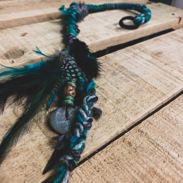 Dreadlock Hair Wrap Braid Colourful Boho Hair Accessory