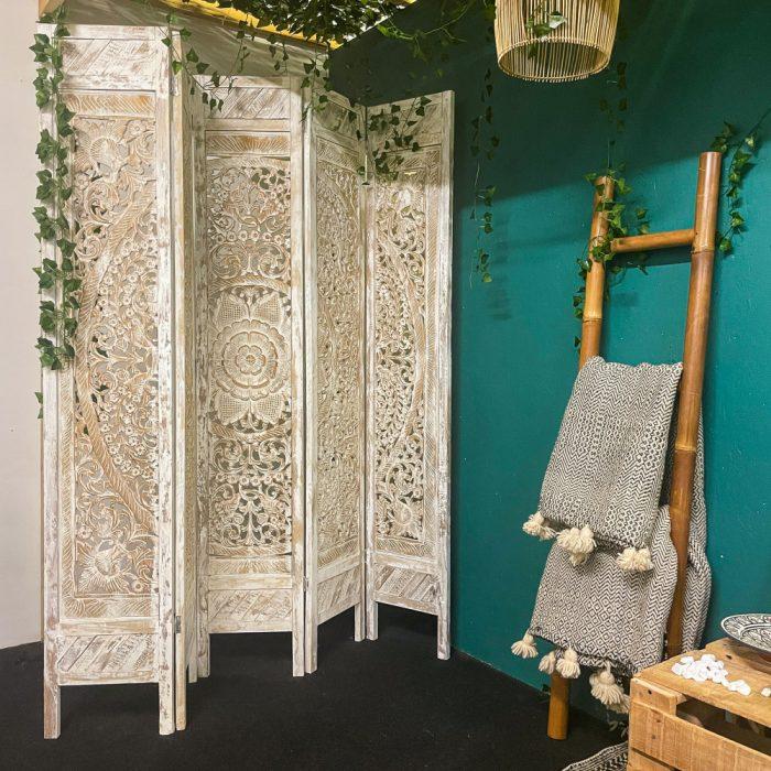 Moroccan Wooden Room Divider
