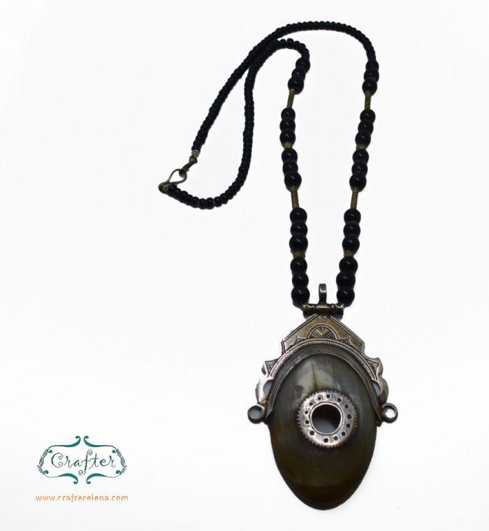 Tuarge Gazelle Horn Necklace