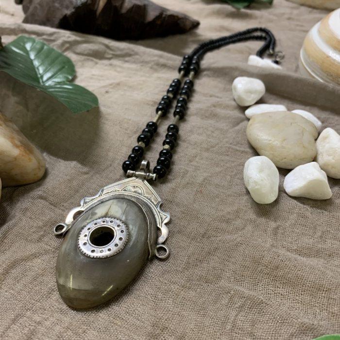 Tuareg Gazelle Horn Necklace